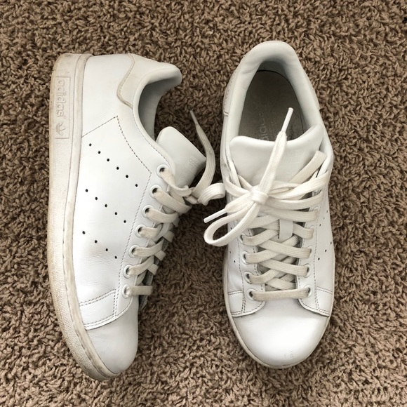 newest 5b4d9 8f17c adidas Shoes - Adidas Stan Smith (all white leather, women s 8